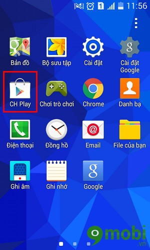 Tải CH Play cho Android