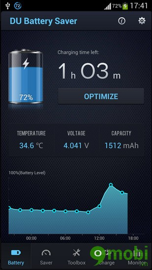 tải DU Battery Saver cho Android