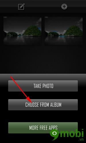 tách màu ảnh trên Android