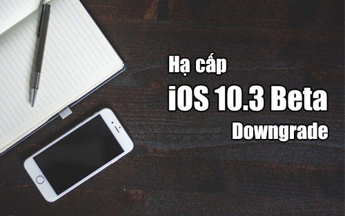 cach ha cap ios 10 3 beta cho iphone ipad nhu the nao