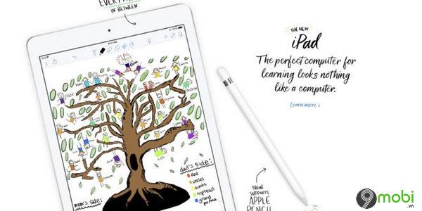apple phat hanh phien ban ios 11 3 chinh thuc cho ipad 9 7 inch moi