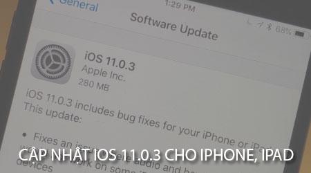 ios 11 0 3 sua loi am thanh rung tren iphone