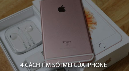 4 cach tim so imei cua iphone