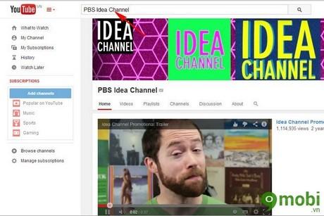 làm ảnh động trên Youtube