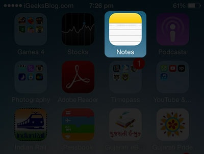 cach them anh vao notes tren iPhone 6