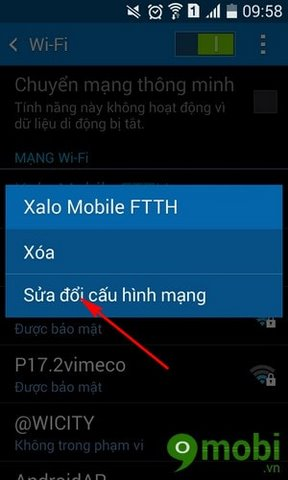 cach tang toc mang tren Android
