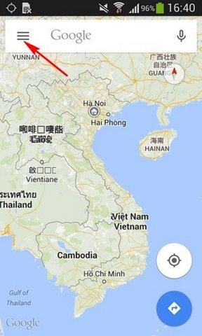 toi uu dich vu dinh vi tren Google Maps