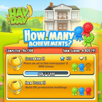 Huong dan kiem kim cuong mien phi trong game Hay Day