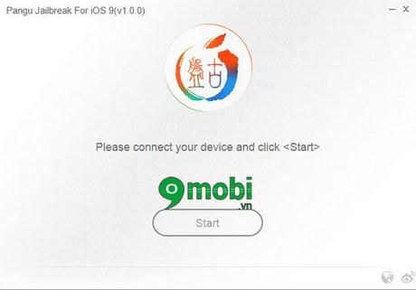 """Fix lỗi không bấm được """"Start"""" trên Pangu khi Jailbreak iOS 9"""
