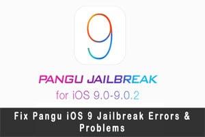 Sửa, fix lỗi Runtime Error khi Jailbreak iOS 9 bằng Pangu