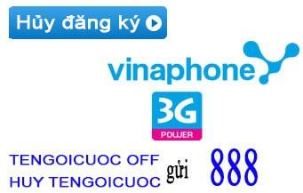 huy dang ky 3g vinaphone