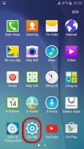 Bật - tắt 3G trên Galaxy S6 và S6 Edge