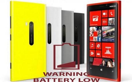 Lumia 920 hao Pin, mẹo tiết kiệm pin Lumia 920 ?
