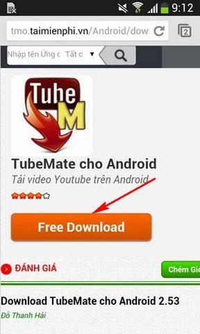 Hướng dẫn tải Tubemate cho Sony Z3