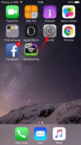 loi mat safari tren iPhone