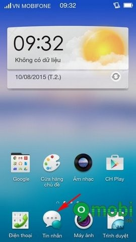 Delete message Oppo, delete phone sms Oppo