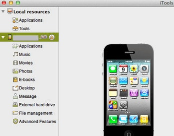 Tips Using the iPhone as USB data storage, turning the