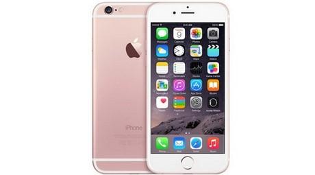 iphone 6s màu hồng