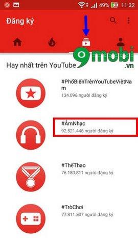 them nhac youtube