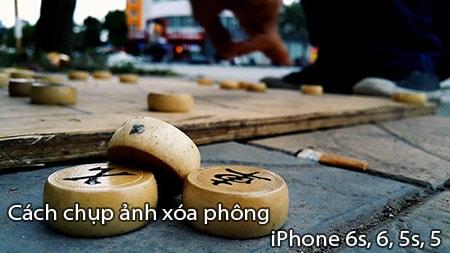 chup anh xoa phone tren iPhone