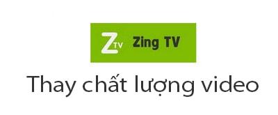 cach doi chat luong video tren Zing TV