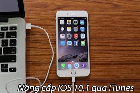nang cap ios 10.1 qua iTunes