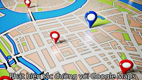 phat hien tac duong voi google maps
