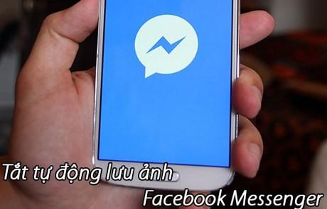 tat du dong luu anh Facebook messenger