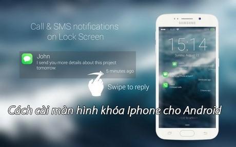 cai man hinh khoa iPhone cho Android