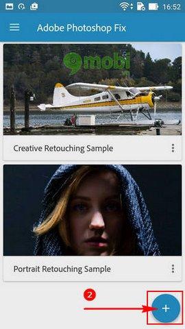 huong dan lam mo anh bang Adobe Photoshop Fix