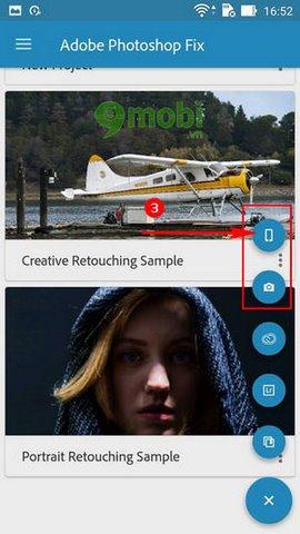 chup xoa phong voi Adobe Photoshop Fix