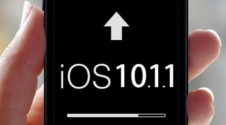 nang cap ios 10.1.1
