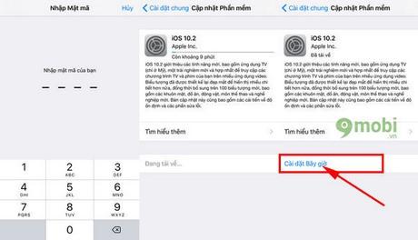 cap nhat ios 10.2 cho iphone