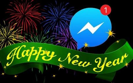 chup hinh nam moi tren Facebook Messenger