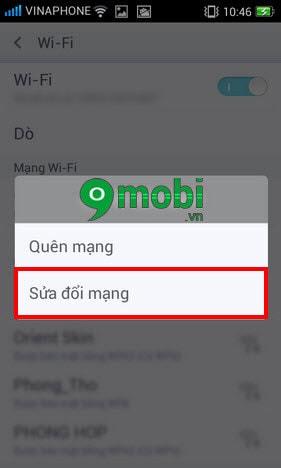 oppo khong vao duoc wifi