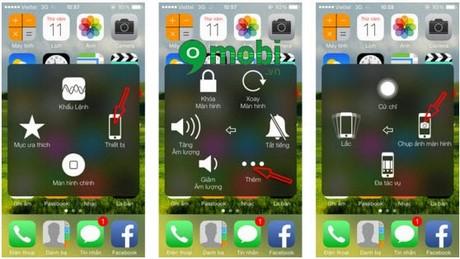 Cách chụp màn hình iPhone