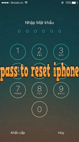 dat passcode tat nguon iphone