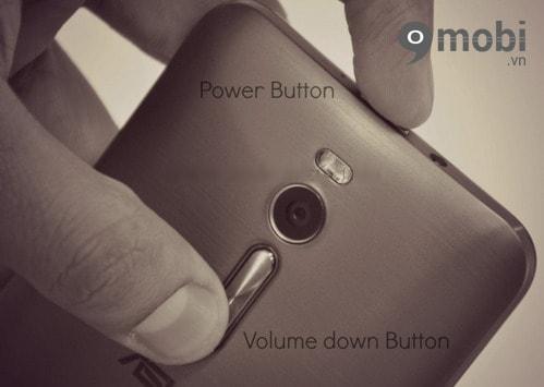 Hướng dẫn chụp ảnh màn hình Zenfone 2