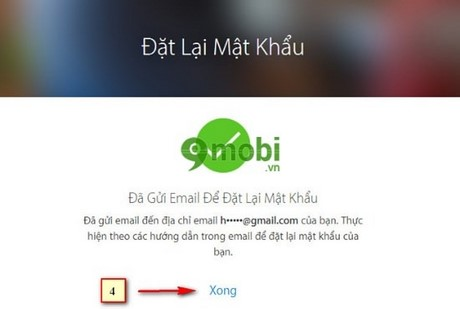 huong dan lay lai mat khau icloud tren may tinh