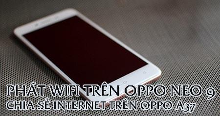 phat wifi Oppo neo 9
