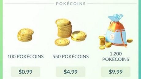Cách nhận tiền xu (Coins) trong Pokemon Go