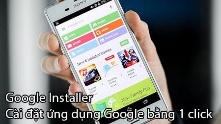 Google Install cai dat ung dung Google