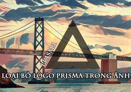 xoa logo prisma trong anh