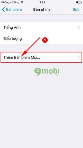 soan tin nhan co dau iPhone 7