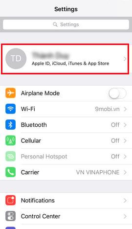 bat tat find my iphone