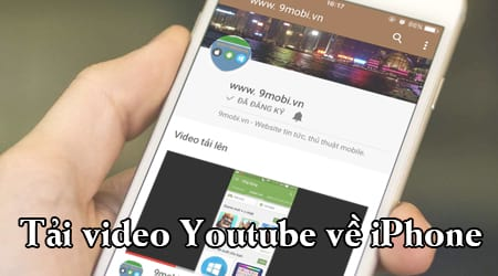 tai video youtube ve iphone
