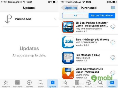 How to delete history installed applications on the App Store