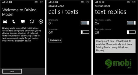 Windows Phone - Learn mode driving (Driving mode)