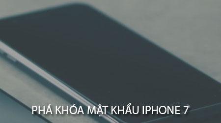 pha khoa mat khau ipHOne 7