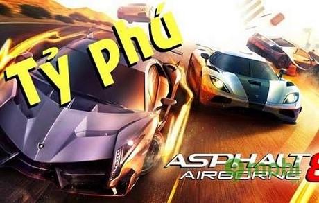 cach kiem tien nhanh trong game asphalt 8